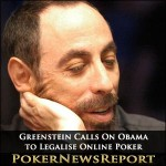Greenstein Calls On Obama to Legalise Online Poker