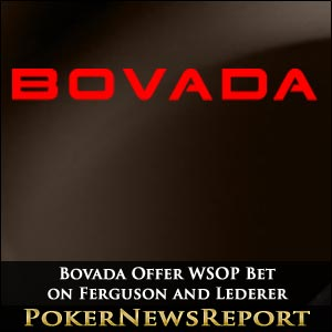 Bovada Offer WSOP Bets