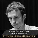 Aubin Cazals Finally Takes Down Marathon WSOP Event #6