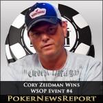 Cory Zeidman Wins WSOP Event #4