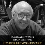 What the Doctor Ordered for WSOP Event #13 Champ David Arsht