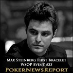 Max Steinberg Picks Up First Bracelet from WSOP Event #33