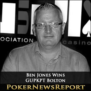 Ben Jones Wins GUPKPT Bolton
