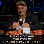 Pete Vilandos Bags Third Bracelet from WSOP Event #50