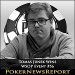 Tomas Junek Takes Down WSOP Event #56