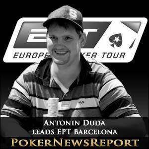 Antonin Duda leads Charge towards EPT Barcelona Final Table