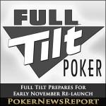Full Tilt Prepares For Early November Re-launch