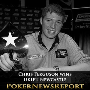 Chris Ferguson wins UKIPT Newcastle