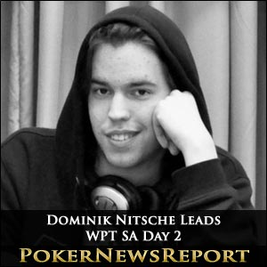 Dominik Nitsche Leads WPT SA Day 2