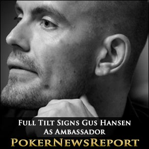 Full Tilt Signs Gus Hansen As Ambassador