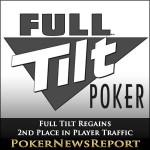 Full Tilt Regains 2nd Place in Player Traffic