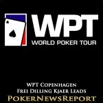 Frei Dilling Kjaer Moves into Lead at WPT Copenhagen
