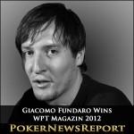 Giacomo Fundaro Wins WPT Magazin 2012