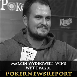 Marcin Wydrowski Wins WPT Prague