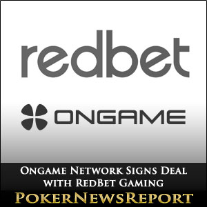 Ongame Network Signs Deal with RedBet Gaming