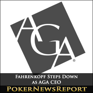 Fahrenkopf Departing as AGA CEO