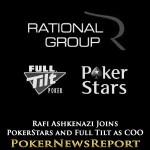 Rafi Ashkenazi Joins PokerStars and Full Tilt as COO