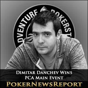 Dimitar Danchev Wins PCA Main Event