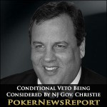 Conditional Veto Being Considered By NJ Gov. Christie