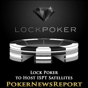 Lock Poker to Host ISPT Satellites