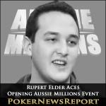 Elder Aces Opening Aussie Millions Event