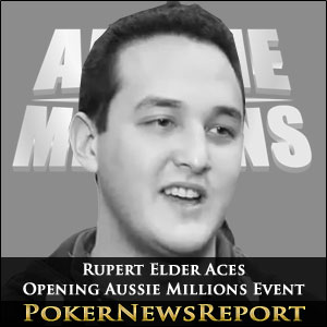 Rupert Elder Aces Opening Aussie Millions Event