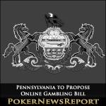 Pennsylvania to Propose Online Gambling Bill