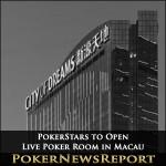 PokerStars to Open Live Poker Room in Macau
