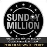 PokerStars Sunday Million Guarantees $7 Million