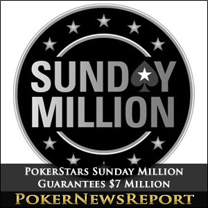 PokerStars Sunday Million $7 Million Guaranteed