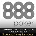 888 Poker and Treasure Island Sign Partnership