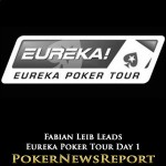 Leib Leads after Day 1 of Eureka Czech Main Event
