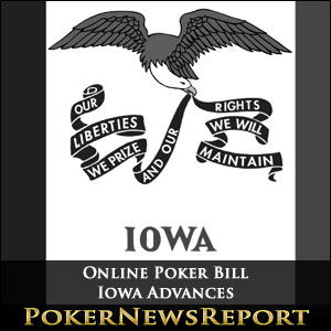 Iowa Online Poker Bill Advances