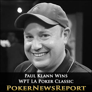 Paul Klann Wins WPT LA Poker Classic
