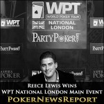 Reece Fleeces Elior to Win WPT National London Main Event