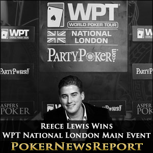 Reece Lewis Wins WPT National London Main Event