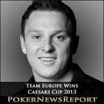 Team Europe Wins Caesars Cup