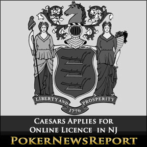 Ceasars Applies for Online License in NJ