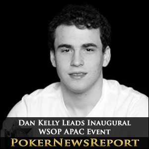 Dan Kelly Leads Inaugural WSOP APAC Event