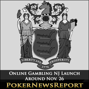 Online Gambling NJ Launch Around Nov. 26