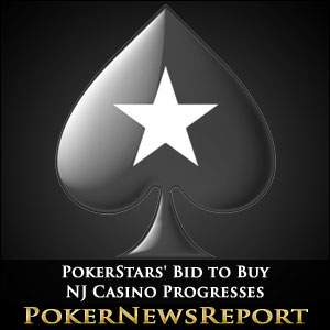 PokerStars' Bid to Buy NJ Casino Progresses