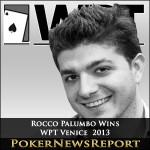 Palumbo Rocks in WPT Venice Main Event