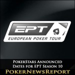 PokerStars Announce Dates for EPT Season 10