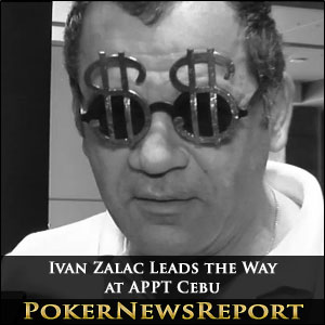Ivan Zalac Leads the Way at APPT Cebu