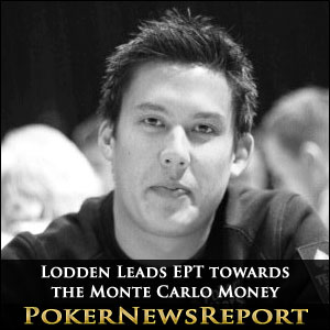 Johnny Lodden Leads EPT