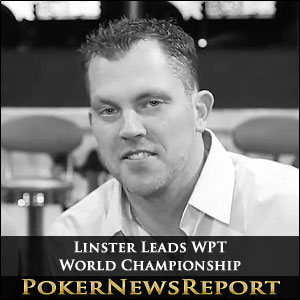Linster Leads WPT World Championship