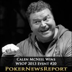 Calen McNeil Takes Down Event #20 – $1,500 Omaha Hi-Low