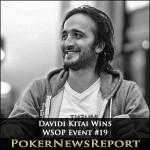 Davidi Kitai Wins WSOP Event #19