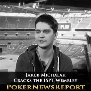 Jakub Michalak Cracks the ISPT Wembley