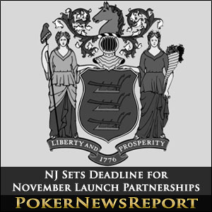 NJ Sets Deadline for November Launch Partnerships